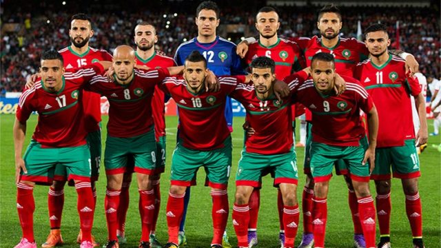 Image result for morocco soccer 2017