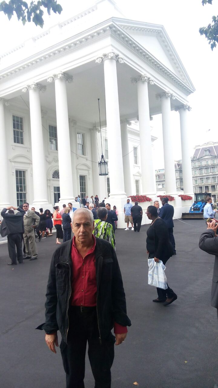 Dr. Chtatou in the white house