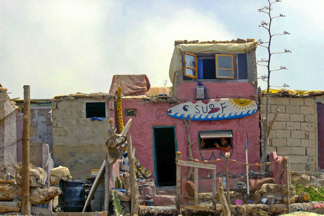 Front House in Moroccan Town. Photo by Emily Rathmanner