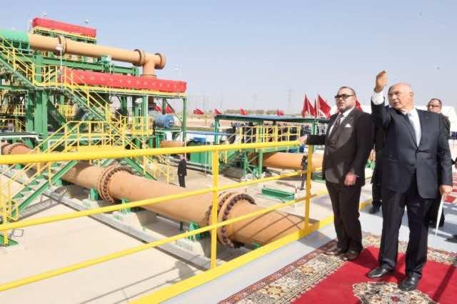 inauguration of OCP projects in jorf lasfar