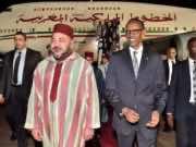 King Mohammed VI meeting Rwandan president, Paul Kagame