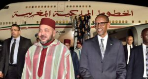 King Mohammed VI Holds Phone Call with Rwandan President