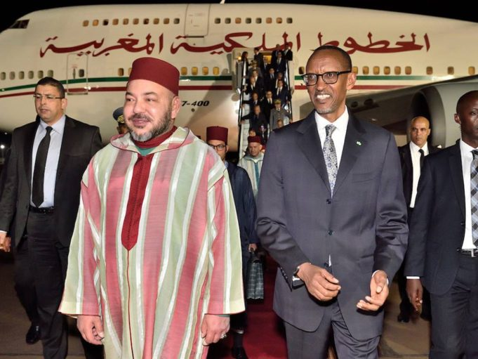 King Mohammed VI Holds Phone Call with Rwandan President