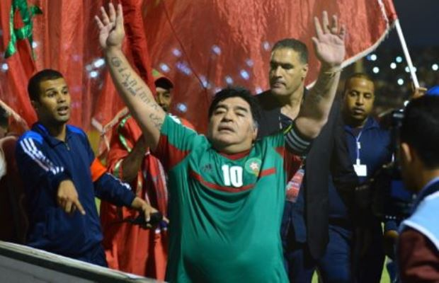 Maradona to Visit Morocco to Celebrate Anniversary of Green March