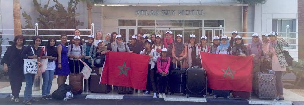 moroccan-girls-travel-to-washington-d-c-to-meet-with-michelle-obama