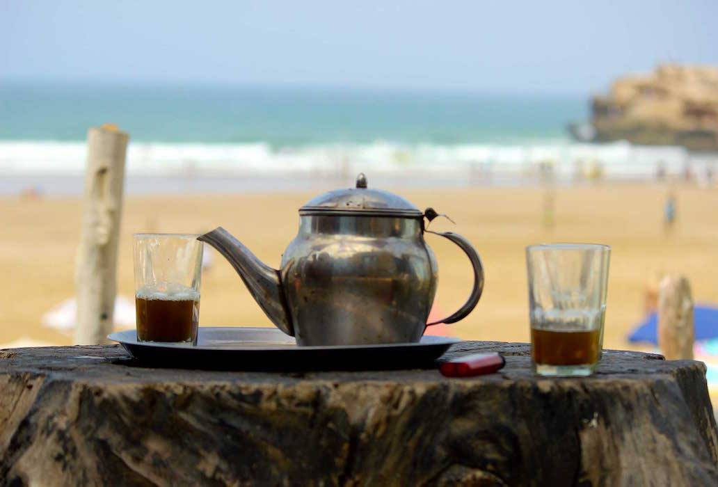 Moroccan Tea. Photo by Emily Rathmanner
