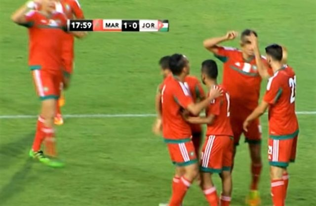 Morocco Beats Jordan 2-1 in Friendly