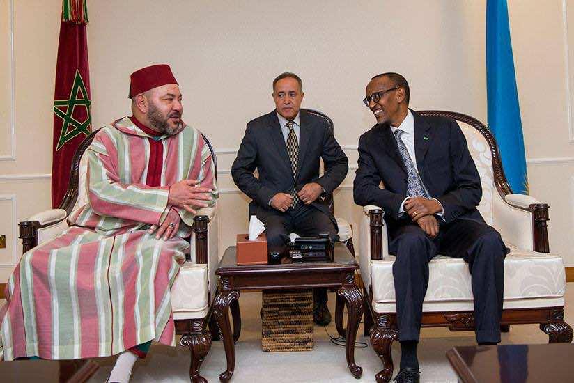 President Kagame receives King Mohamed VI of Morocco