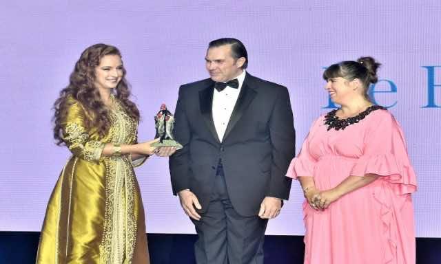 Princess Lalla Salma Chairs Third Edition of 'Bal de la Riviera' in Portugal