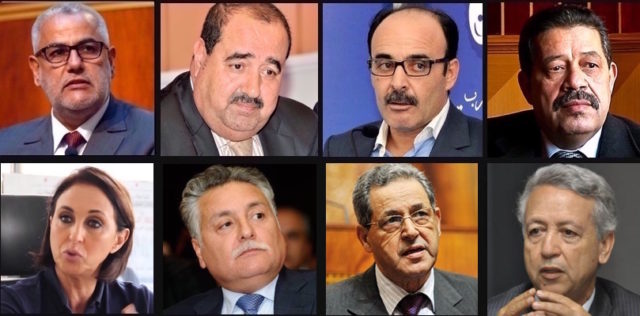 Secretary Generals of Moroccan Parties. Moroccan Elections of 2016