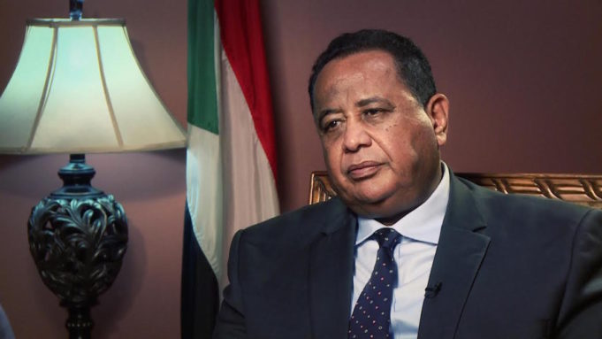 Sudanese foreign minister Ibrahim Ghandour
