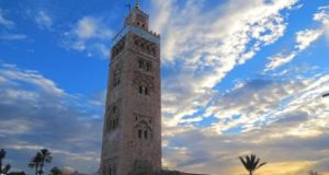 The Koutoubia Mosque in Marrakech. Photo by Mohammed Boulkoumit