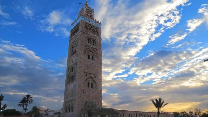 The Koutoubia Mosque in Marrakech. Photo by Mohammed Boulkoumit