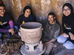 Three Moroccan Engineering Students Invent Ecological Clay Fridge