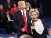 Trump Stumbles When Addressing Islamophobia During Presidential Debate