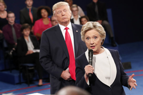 Trump Stumbles When Addressing Islamophobia During Presidential Debate