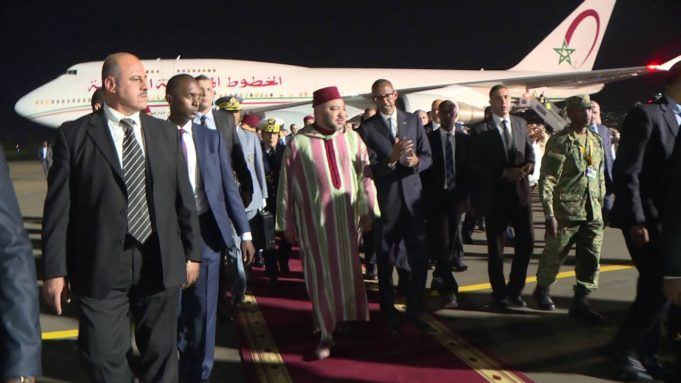 Video: President Kagame Welcomes King Mohamed VI to Rwanda for a State Visit
