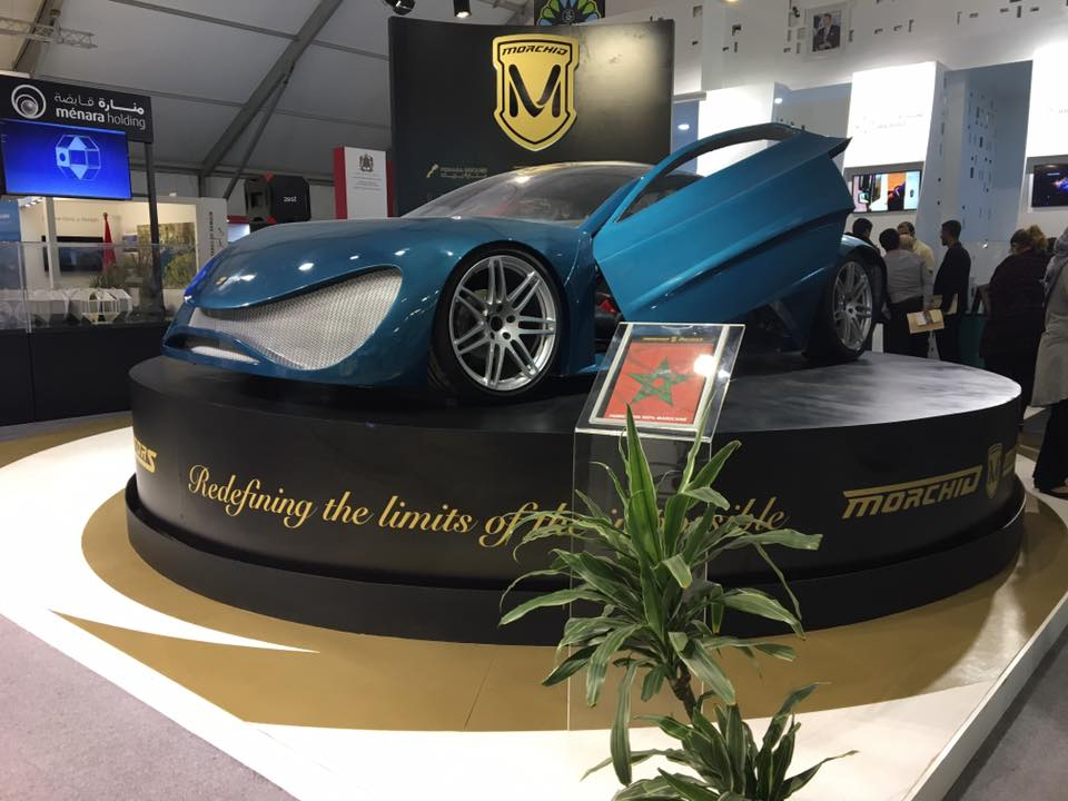 100 Percent Electric Moroccan Car Presented at COP22