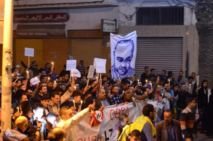 Thousands Hold Peaceful Demonstration in Memory of Mouhcine Fikri