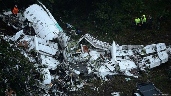 news world plane carrying people including a brazilian soccer team crashes a.