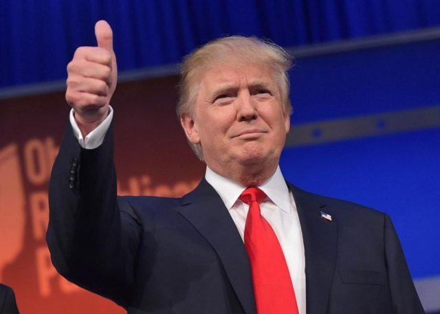 donald trump elected president united states