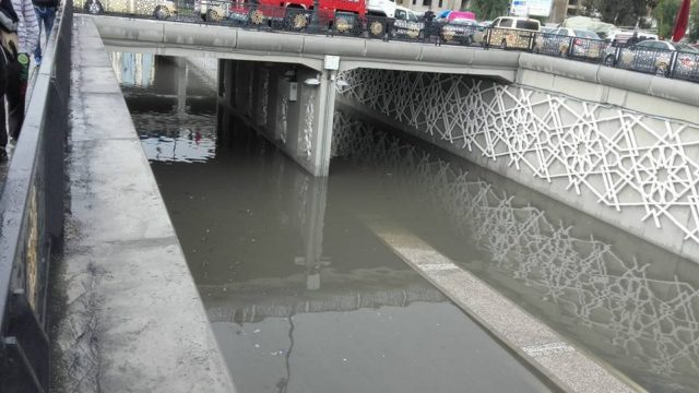 Downpour Uncovers Fragile Infrastructure of Tangier