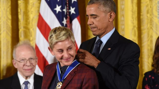 Ellen Degeneres Celebrated as Champion of Gay Rights