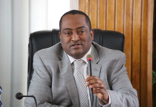 Ethiopian State Minister of Foreign Affairs, Regassa Kefale