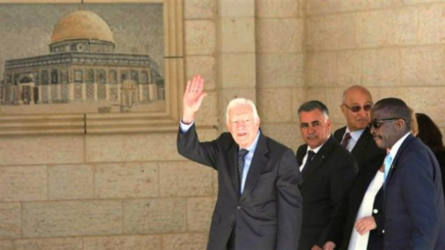 Former President Jimmy Carter on the Future of US and Palestine