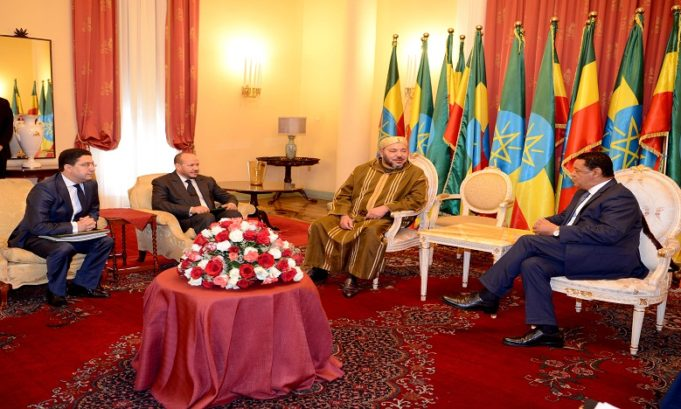 King Mohammed VI Visit to Ethiopia