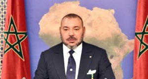 King Mohammed VI from Dakar, Senegal