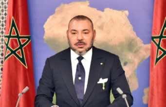 King Mohammed VI from Dakar, Senegal