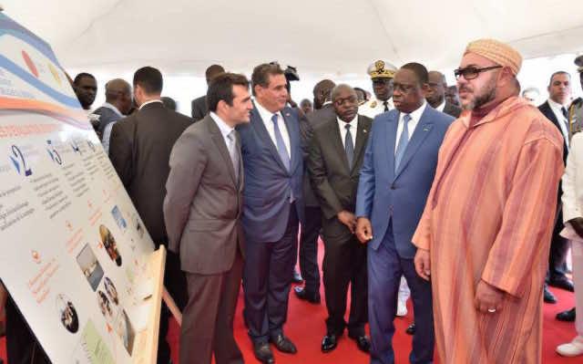King Mohammed VI in Senegal