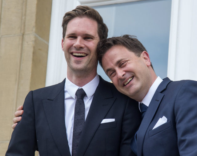 Luxembourg Prime Minister Marries Same-Sex Partner
