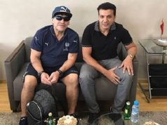 Maradona-Arrives-in-Morocco-for-Green-March-Gala-Match