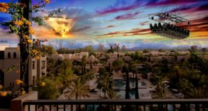 Marrakech to Stage 'Dinner in the Sky' this December