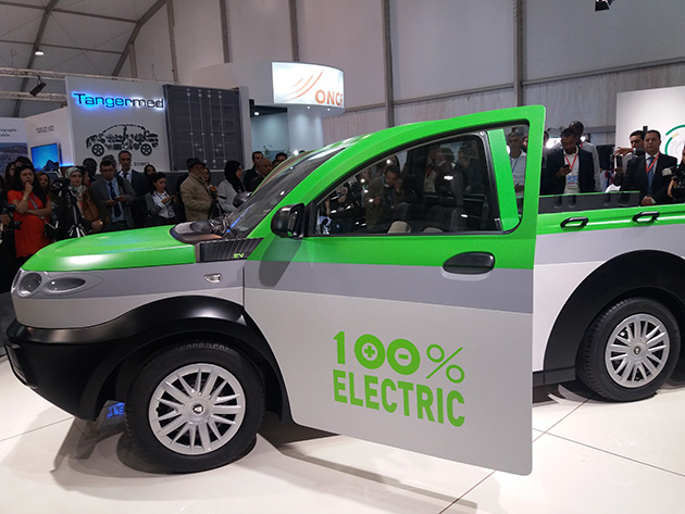 Morocco Reveals the World's First Electric Pickup Truck