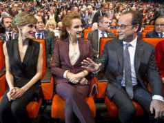 Princess Lalla Salma Attends World Cancer Congress in Paris