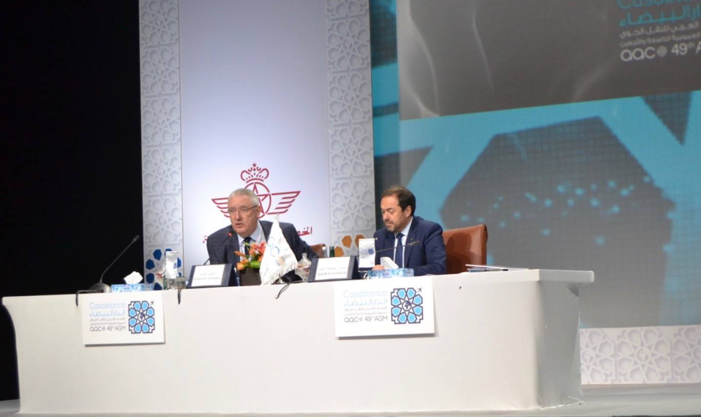 Royal Air Maroc CEO Abdelhamid Addou chaired Arab Air Carriers' Organization meeting