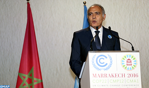 Mezouar: The United States Must Respect Its Commitments on Climate Change