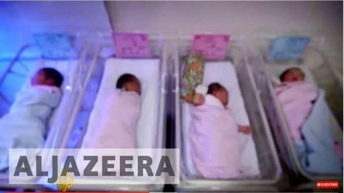 Babies Advertised Online, Sold to the Highest Bidder