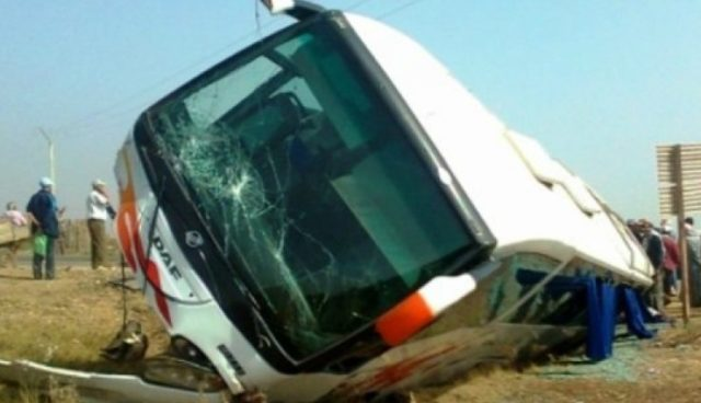 38 Injured in Football Supporters Bus Accident