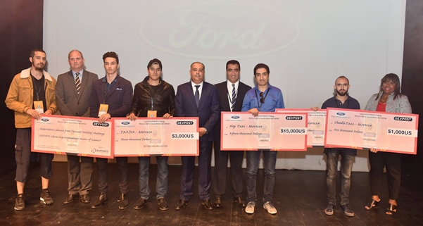 Meet the winners of Ford Code 4Taxi Challenge in Morocco