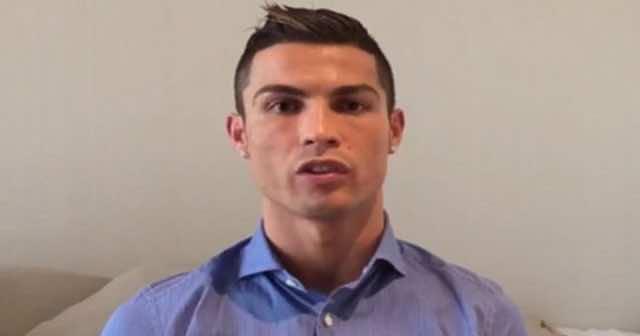 Cristiano Ronaldo Sends a Hope Message to Children in Syria