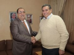 Driss Lachgar Receives Aziz Akhannouch