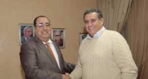 Driss Lachgar Receives Aziz Akhannouch