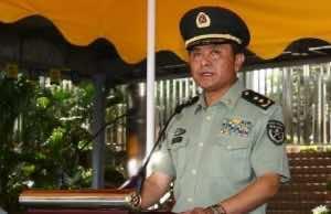 General Wang Xiaojun of China Force Commander