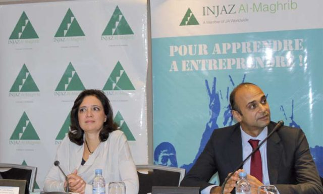 Injaz Al Maghrib Association Meets Partners for Review and Goal Setting