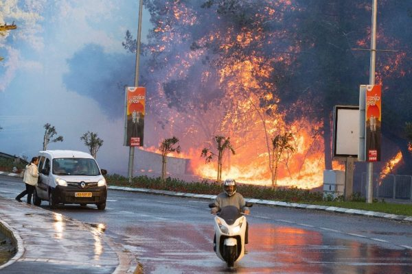 Israel Refuses to Thank Palestine For Help in Extinguishing Fire