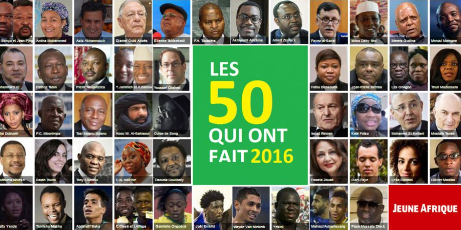 Jeune Afrique: King Mohammed VI among 2016's 50 Most Influential Africans